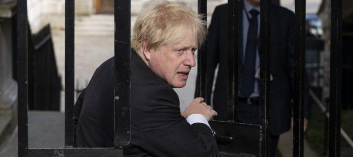 Großbritannien: Boris Johnson tritt nach Streit über Brexit-Kurs zurück